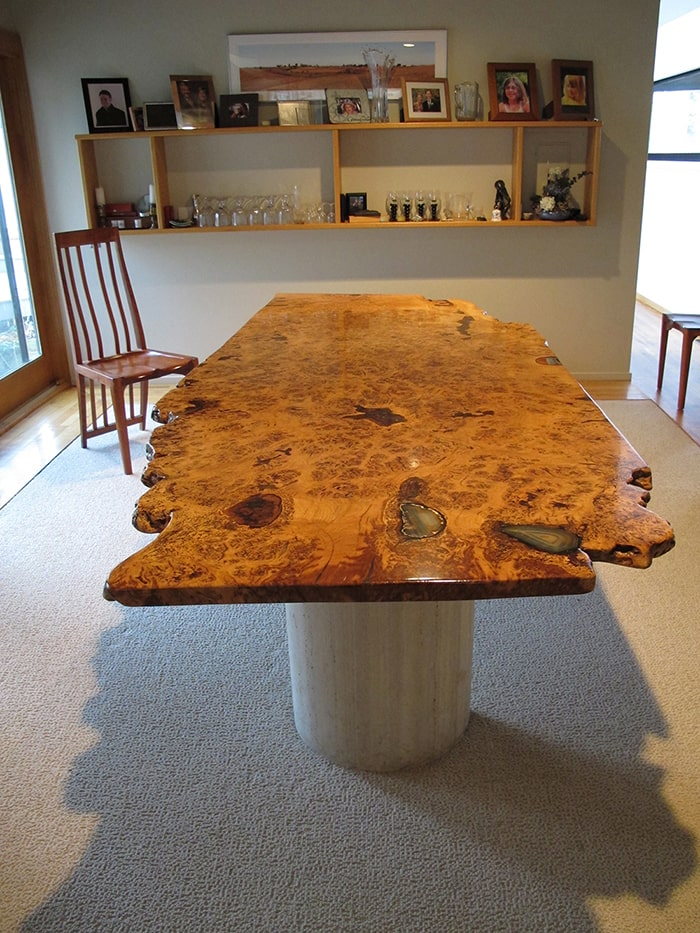 English White Oak Burl